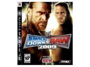 WWE SmackDown vs. RAW 2009 Playstation3 Game