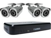 Lorex LNR182C4 8 Channel 8-Channel 1080p HD NVR System with 2TB HDD & 4 HD IP Cameras