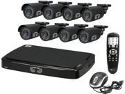 Night Owl B-A720-81-8 8 Channel Smart HD Video Security System w/ 1TB HDD and 8 x 720p AHD Cameras