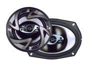 "Dual 6"" x 9"" 150 Watts Peak Power 3-Way Speaker"