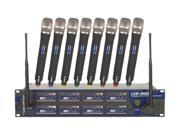 VocoPro UHF-8800 8 Channel UHF Wireless Microphone System