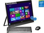 """Acer All-in-One PC Aspire AU5-620-UB10 Intel Core i5 4200M (2.50 GHz) 8 GB DDR3 1 TB HDD 23"""" Touchscreen Windows 8.1 64-Bit"""
