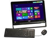 "Acer All-in-One PC Aspire AZC-102-UR20 (DQ.SPRAA.001) AMD Dual-Core Processor E1-1500 (1.48GHz) 6GB DDR3 500GB HDD 19.5"" Windows 8"
