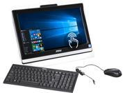 """HP All-in-One Computer Pro 20ET 4BW-019US Celeron N3150 (1.60 GHz) 4 GB DDR3 500 GB HDD 19.5"""" Touchscreen Windows 10 Home"""