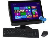 "DELL All-in-One PC Inspiron One i3048-5143BLK Pentium G3220T (2.60GHz) 4GB DDR3 1TB HDD 20"" Touchscreen Windows 8.1 64-Bit"
