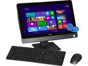 "DELL All-in-One PC Inspiron 3048 (i3048-5144BLK) Pentium G3240T (2.7GHz) 4GB DDR3 1TB HDD 20"" Touchscreen Windows 8.1 64-Bit"
