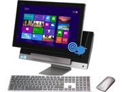 "ASUS Desktop PC P1801-B054K Intel Core i3 3220 (3.30GHz) 4GB DDR3 1TB HDD 18.4"" Touchscreen PC Station: Genuine Windows 8 Tablet: Android Jelly Bean 4.1"