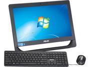"ASUS Pentium G2030T (2.60GHz) 4GB DDR3 500GB HDD 20"" Touchscreen All-in-One PC Windows 7 Home Premium 64-Bit ET2013IUTI-03"