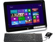 "HP All-in-One PC 21-h010 A4-5000 (1.5 GHz) 4 GB DDR3 1 TB HDD 21.5"" Windows 8.1"