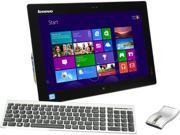"Lenovo IdeaCentre Intel Core i3 4010U (1.7GHz) 4GB DDR3 500GB HDD 19.5"" Touchscreen Portable All-in-One Windows 8 Flex 20 (57318965)"