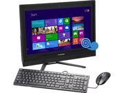 "Lenovo All-in-One PC C470 Touch (57330313) Intel Core i3 4030U (1.90 GHz) 4GB DDR3 1TB HDD 21.5"" Touchscreen Windows 8.1 64-Bit"