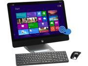 """HP ENVY Intel Core i3 4130T (2.90GHz) 4GB DDR3 1TB SATA 6G Solid State Hybrid Drive with 8GB SSD acceleration cache HDD 23"""" Touchscreen Desktop PC Windows 8.1 23-k110 (F3D51AA#ABA)"""
