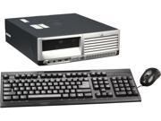 HP Compaq DC7600 Small Form Factor Desktop PC Intel Pentium 4 3.0Ghz 2GB RAM 160GB HDD DVDROM Windows 7 Home Premium 32 Bit