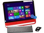 "HP ENVY Intel Core i5 4570T (2.90GHz) 8GB DDR3 1TB HDD 8GB SSD 23"" Touchscreen All-in-One PC Windows 8.1 23-n010"