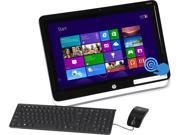 "HP Pavilion TouchSmart A8-Series APU A8-6500T (2.10GHz) 4GB DDR3 500GB HDD 23"" Touchscreen All-in-One PC Windows 8.1 64-Bit 23-h110"