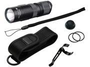 Olympia RG245 High-Performance Rugged Flashlight - Black