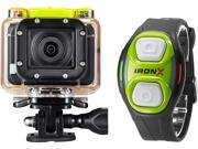 DXG N.A. DXG-D11V HD Black IronX HD Sports Action Camcorder Wifi with Wrist Remote and iOS Android Apps
