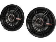 """Crunch CS653 6.5"""" 300 Watts Peak Power Speakers"""
