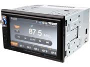 """Power Acoustik PDR-654B 2-DIN Digital Media Receiver with 6.5"""" LCD and Built-in Bluetooth"""