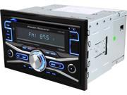 Power Acoustik PCD-42B Double-DIN In-Dash CD/MP3/USB Car Stereo w/ Bluetooth