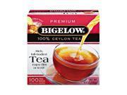 Bigelow 00351 Single Flavor Tea, Premium Ceylon, 100 Bags/Box