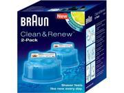 BRAUN CCR2 Syncro Shaver System Clean & Renew Refills