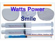 Watts Power WPDentalPro22 New Sensitive 22% Dental Pro Formula Teeth Whitening Shield System - 2 Huge 10ml Gels - Same Results as 35% - Kosher Certified USA