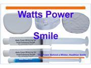 Watts Power WPDentalPro35 New Sensitive 35%  Dental Pro Formula Dual Action Surface & Deep Stain Teeth Whitening Shield System - 2 Huge 10ml Gels - Kosher Certified USA