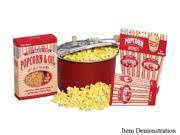 West Bend PC10655 Red Red Aluminum Stove-top Popcorn Popper