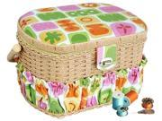 Lil' Sew & Sew  FS-098  Sewing basket and handheld sewing machine