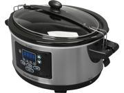 Hamilton Beach 33969 6 Qt. Set & Forget 6 Qt. Programmable Slow Cooker