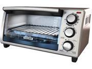 Black & Decker  TO1373SSD  Stainless Steel  4Slice Toaster Oven