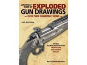 Gun Digest Book of Exploded Gun Drawings 3 Muramatsu, Kevin
