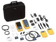 Fluke Networks DSX-5000QI CableAnalyzer, 120/GLD 1GHZ DSX with Quad Olts Inspection Probe, 1-Year Gold Support coverage included
