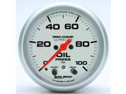Auto Meter 4452 Ultra-Lite Electric Oil Pressure Gauge