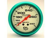Auto Meter Ultra-Nite Oil Temperature Gauge