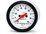 Auto Meter 5744-M Phantom Electric Pyrometer Gauge Kit