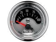 Auto Meter American Muscle Oil Pressure Gauge