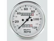 Auto Meter Old Tyme White Mechanical Speedometer