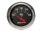 Auto Meter Traditional Chrome Electric Oil Temperature Gauge