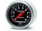 Auto Meter Sport-Comp Electric Pyrometer Gauge Kit