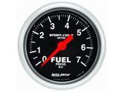 Auto Meter 3363-M Sport-Comp Electric Fuel Pressure Gauge
