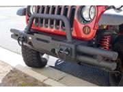 Rugged Ridge 11540.21 Xtreme Heavy Duty&#59; Bumper End Caps 07-13 Wrangler (JK)