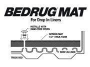 BedRug BMR93SBD BedRug Floor Truck Bed Mat