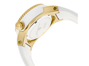 Neptune (40 mm) White Silicone White Dial Gold-Tone Accent and Case