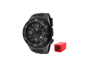 Neptune (52 mm) Automatic Black Silicone Black Dial and Silicone Case Cover
