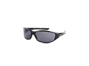 Timberland TB7093-01A Men's Wrap Around Sunglasses - Black