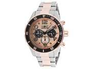 Men's Pro Diver Chronograph Rose Gold Textured Dial Two Tone