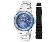 Men's Pro Diver Stainless Steel Metallic Blue Dial
