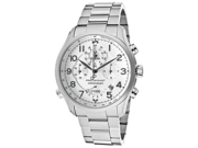 Bulova 96B183 Precisionist Chronograph Silver Dial Stainless Steel Men's Watch
